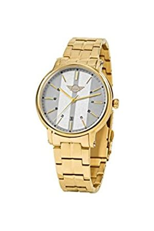 MINI Unisex Adult Analogue Classic Quartz Watch with Stainless Steel Strap 160909