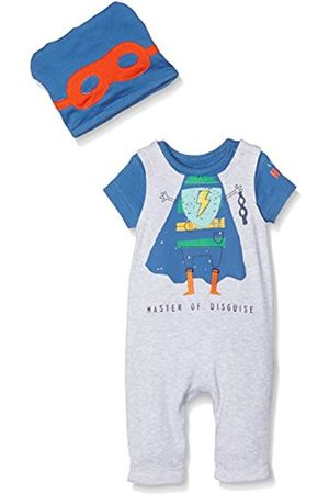 Mothercare Superhero Dungarees And Hat, Marl