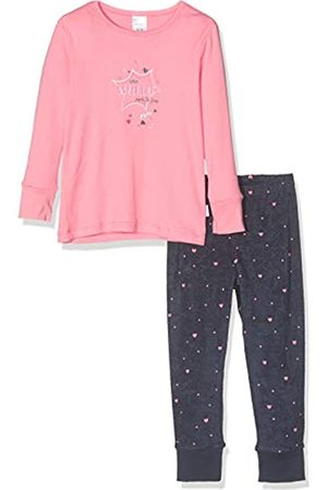 Schiesser Girls' Cat Zoe Md Anzug Lang Pyjama Sets