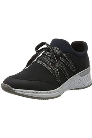 Rieker Women's Frühjahr/Sommer Low-Top Sneakers, (Pazifik/Pazifik/Navy/ 14 14)