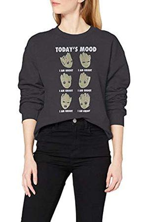 Marvel Women's Guardians of The Galaxy Vol 2 Groot Today's Mood Sweatshirt