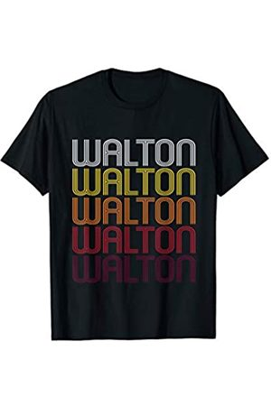 Ann Arbor Walton Retro Wordmark Pattern - Vintage Style T-shirt