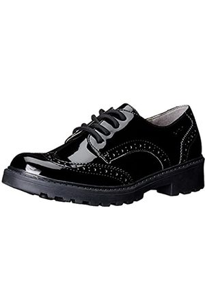 Geox Girls J Casey N Brogues, (BLACKC9999)