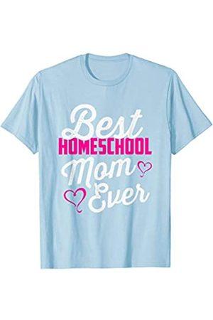 BUBL TEES Best Homeschool Mom Ever Homeschooling Teacher Gift T-Shirt