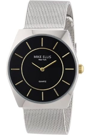 Mike Ellis New York Men's Analogue Quartz Watch with Stainless Steel Strap M1126ASM/2