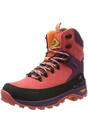 Viking Unisex Adults' Classic 150 High Rise Hiking Shoes, (Coral/Plum)