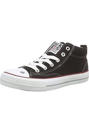 Dockers by Gerli 38ay603-710100, Unisex Kids' Hi-Top Sneakers, (Schwarz 100)