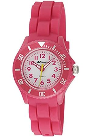 Ravel Children's Easy Read Quartz Watch with Dial Analogue Display and Silicone Strap R1802.5