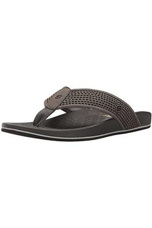 Skechers Men's 65093 Flip Flops, (Charcoal)