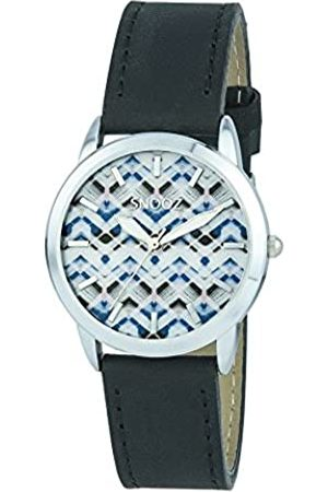 Snooz Women's Analogue Quartz Watch with Leather Strap Saa1040-74