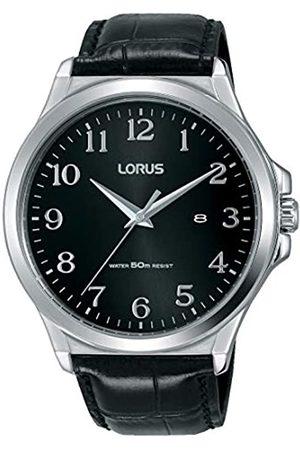 Lorus Mens Analogue Quartz Watch with Leather Strap RH969KX8