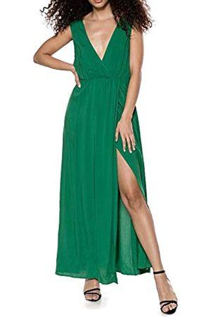 IVYREVEL Women's Maxi Dress with slit Party (Verdant 344)
