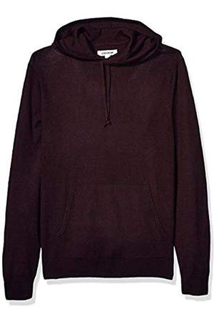 Goodthreads Merino Wool Pullover Hoodie Sweater Burgundy