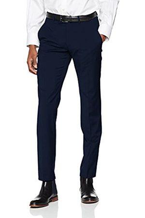 Bugatti Men's 788500-99770 Slim Suit Trousers, (Blau 47)