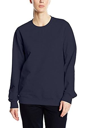 Trigema Women's Damen Sweat-Shirt Sweatshirt, -Blau (Blau 046)