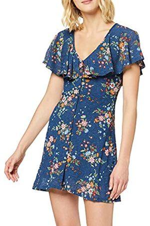 Springfield 4.1.t.vest Capa Print Flo Dress Women's X-Large (Manufacturer's size:XL)