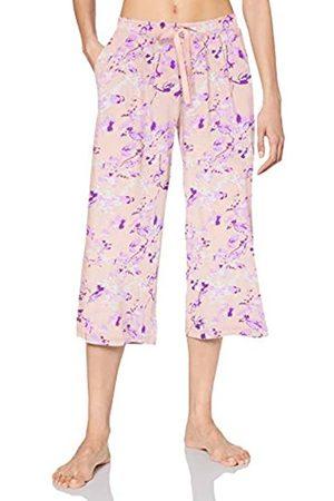 Schiesser Women's Mix & Relax Jerseyculotte 3/4 Lang Pyjama Bottoms