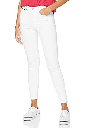 Tommy Hilfiger Women's Sylvia HIGH Rise SPR SKN ANK CNW Straight Jeans