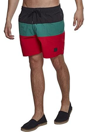 Urban classics Men's Color Block Swimshorts Swim Shirt