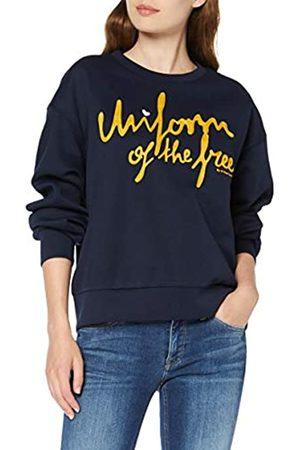 G-Star Women's Graphic 24 Loose Round Neck Sweatshirt