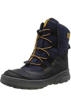 Geox Boys' J SVEGGEN B ABX A Snow Boots, (Navy/Dk C4229)