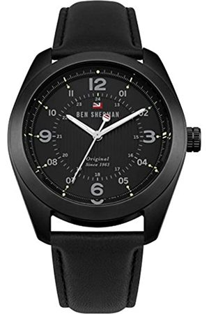 Ben Sherman Mens Analogue Classic Quartz Watch with Leather Strap WBS110BB