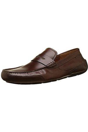 Clarks Men's Ashmont Way Mocassins, (Cognac Leather-)