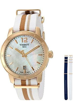 Tissot Womens Analogue Quartz Watch with Nylon Strap T0954103711700
