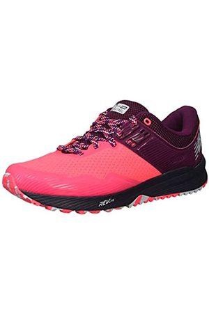 New Balance Women's Nitrel v2 Trail Running Shoes, ( Zing/Claret/Pigment Lp2)