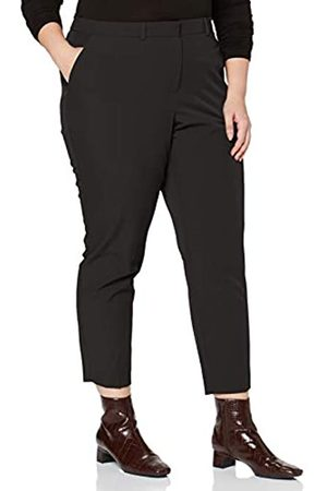 Dorothy Perkins Curve Women's Elastic Back Ankle Grazer Trousers