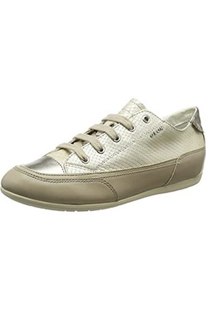 Geox Women's D New MOENA D Trainers, (LT Taupe C6738)