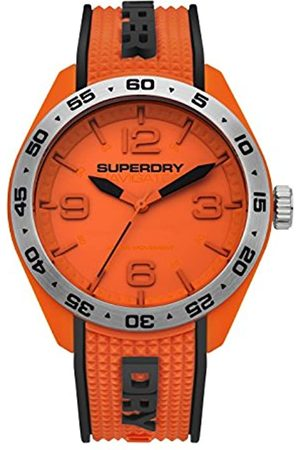 Superdry Mens Analogue Quartz Watch with Silicone Strap SYG213O