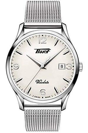 Tissot Mens Analogue Quartz Watch with Stainless Steel Strap T1184101127700
