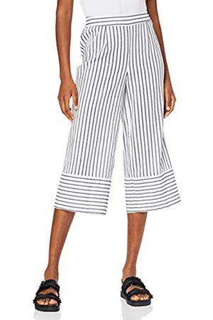 Vero Moda Women's VMCOCO Stripy NW Culotte Pant WVN Trouser