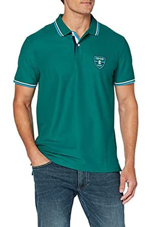 Izod Men's Shield Patch Performance Polo Shirt