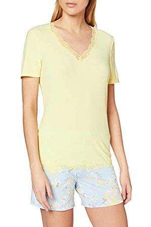 Schiesser Women's Mix & Relax Shirt 1/2 Arm Pyjama Top