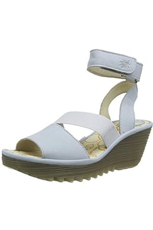 Fly London Women's YODE126FLY Open Toe Sandals, (Sky 005)