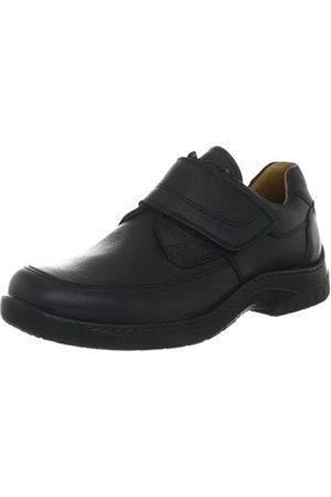 Jomos Men's Feetback Loafers, (Schwarz)