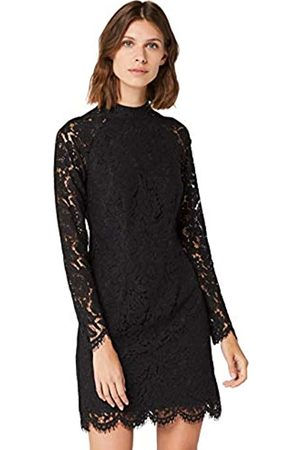 TRUTH & FABLE Amazon Brand - Women's Mini Lace Bodycon Dress, 18