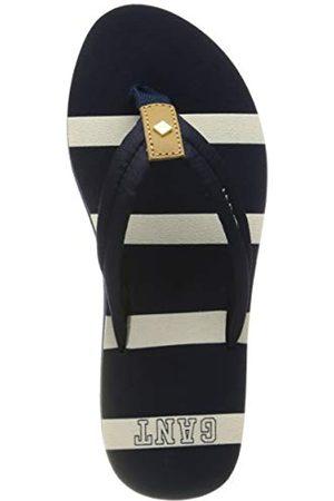 GANT FOOTWEAR Women's St Bart Flip Flops, (Marine G69)