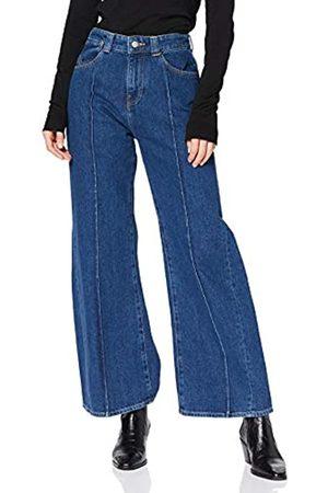Armani Exchange Women's J40 90' Style Flared Jeans