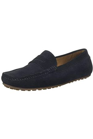 Chatham Men's Parker Moccasins, (Navy 001)
