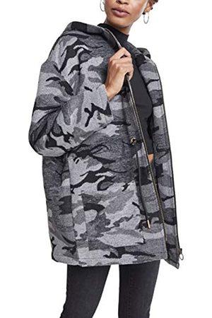Urban classics Women's Ladies Oversize Camo Parka Coat