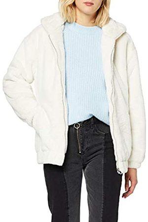 New Look Women's Frankie Fur Hooded Bomber Jacket