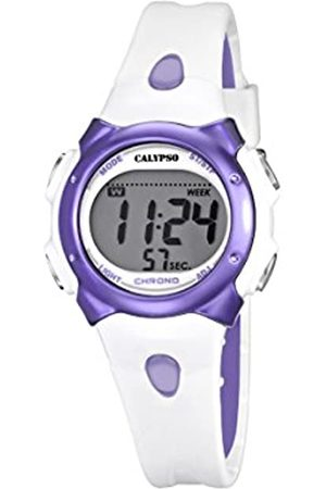 Calypso Girl's Digital Watch with LCD Dial Digital Display and Plastic Strap K5609/2