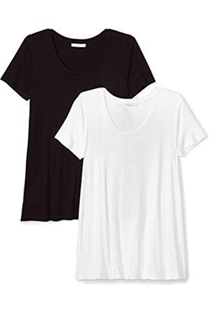 Daily Ritual Amazon Brand - Jersey Short-Sleeve Scoop Neck Swing T-Shirt Chemise, US XXL (EU 3XL-4XL)