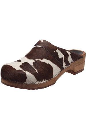 Sanita Men's Wood-Casper open, multi-coloured -Brown (Bown Cow 3)