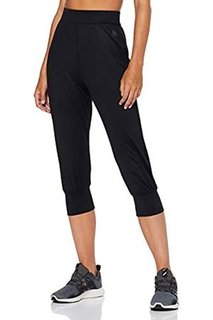AURIQUE Amazon Brand - Women's Cropped Joggers, 14
