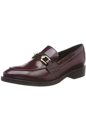 Geox Women's Donna Brogue A Loafers, (Burgundy/ C8351)