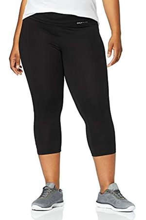 ONLY Women's Onpfold Jazz Knickers Fit Curvy-Opus Sports Tights